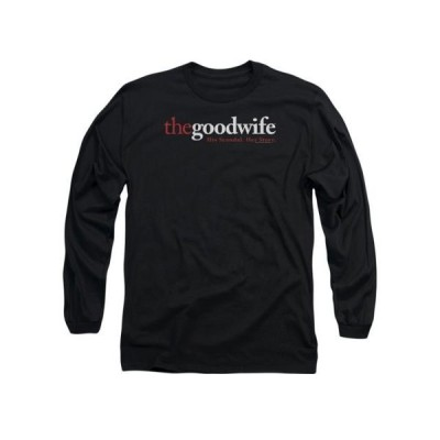 ユニセックス 衣類 トップス The Good Wife CBS TV Series Logo Adult Long Sleeve T-Shirt Tee グラフィックティー