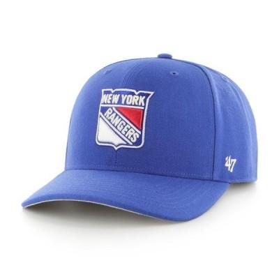 フォーティーセブン メンズ アクセサリー 帽子 キャップ NHL New York Rangers Cold Zone MVP DP Cap