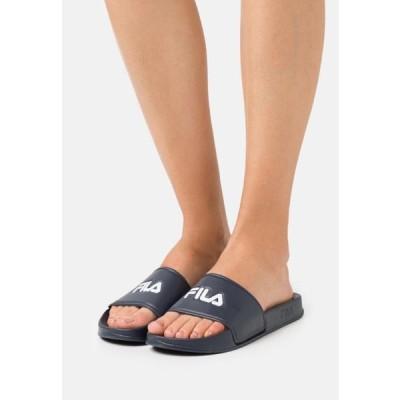 フィラ レディース 靴 シューズ BAIA - Mules - navy