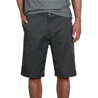ボルコム Volcom メンズ ショートパンツ ボトムス・パンツ Vmonty Stretch 22 Shorts Charcoal Heather/Cambodia