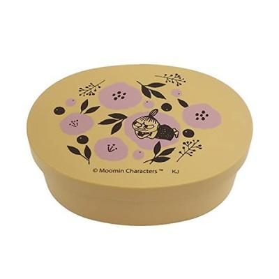 ムーミン[お弁当箱]曲げわっぱ風 小判型 ランチボックス/花とリトルミイ 北欧