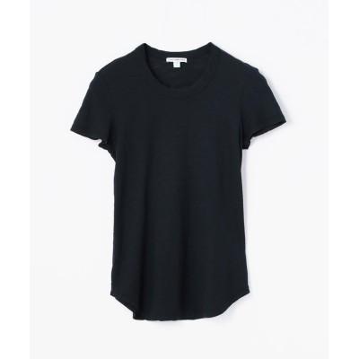 【トゥモローランド】 スラブジャージー クルーネック Tシャツ WUA3037 レディース 67ダークブルー 0(S) TOMORROWLAND