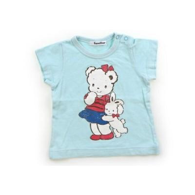 ファミリア familiar Tシャツ・カットソー 80サイズ 女の子 子供服 ベビー服 キッズ