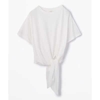 tシャツ Tシャツ コットン サイドリボンプルオーバー