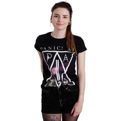 【残り1点!】【サイズ:M】パニック アット ザ ディスコ Panic! At The Disco レディース トップス Tシャツ PATD T-Shirt black