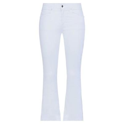SANDRO FERRONE パンツ ホワイト 42 コットン 98% / ポリウレタン 2% パンツ