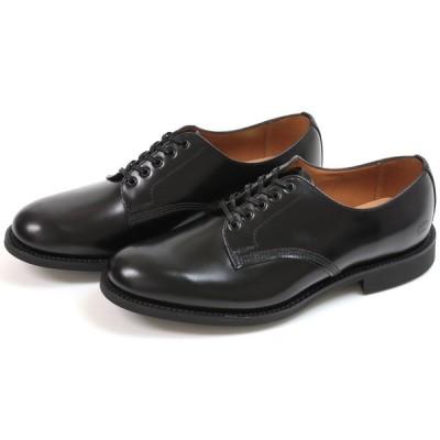 サンダース オフィサーシュー ブラック (Sanders #2246 Officer Shoe Black)