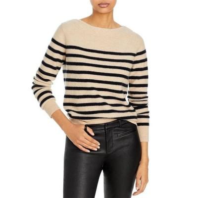 ヴィンス レディース ニット・セーター アウター Breton Striped Cashmere Sweater