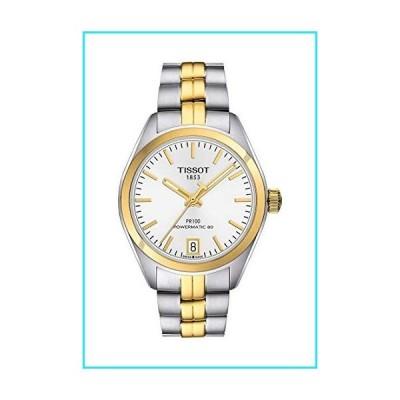 Tissot PR 100 Powermatic Silver Dial Ladies Watch T101.207.22.031.00【並行輸入品】