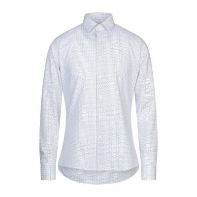UNGARO シャツ ホワイト 38 コットン 100% シャツ