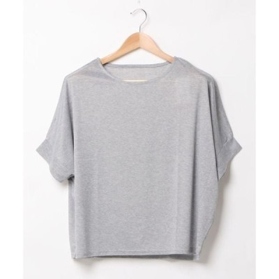 tシャツ Tシャツ 【FORT POINT】UVカットCOOL Tシャツ ドルマンシルエット 生地感はサラッとした涼しい肌触り