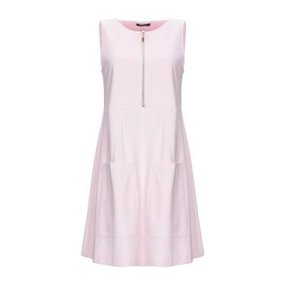 CRISTINAEFFE ミニワンピース&ドレス ピンク 42 レーヨン 65% / ナイロン 30% / ポリウレタン 5% ミニワンピース&ドレス