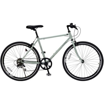 【期間限定オプションサービス! 】マイパラス(Mypallas)クロスバイク26インチ M-605 シマノ製6段ギア シンプルフレーム+エアロリム ス
