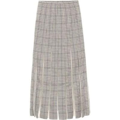 ガブリエラ ハースト Gabriela Hearst レディース ひざ丈スカート スカート Binka checked wool midi skirt Mini Check