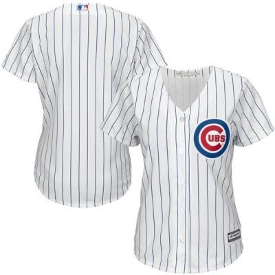 マジェスティック レディース Tシャツ トップス Chicago Cubs Majestic Women's Cool Base Jersey