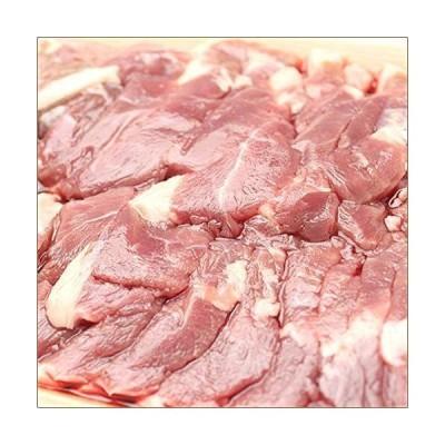 ラム肉 アイスランドラム 1.0kg (ショルダー/ジンギスカン用/冷凍品) ジンギスカン アイスランドラム肉