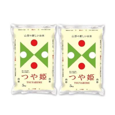 精米 山形県 白米 1等米 つや姫 5kg×2 令和元年産