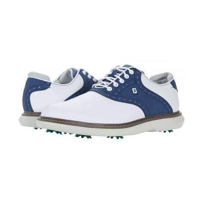 FootJoy フットジョイ メンズ 男性用 シューズ 靴 スニーカー 運動靴 Traditions - White/Blue