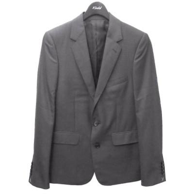 【3月22日値下】CELINE テーラードジャケット チャコールグレー サイズ:46 (渋谷店)