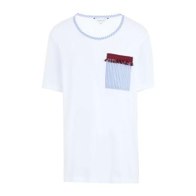 XANDRES T シャツ ホワイト M コットン 100% T シャツ