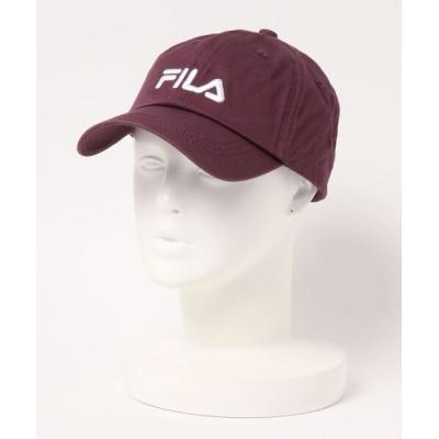 LB/S / 【FILA/フィラ】ロゴローキャップ ブランドロゴ 刺繍 WOMEN 帽子 > キャップ