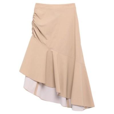 PINKO 七分丈スカート  レディースファッション  ボトムス  スカート  ロング、マキシ丈スカート ベージュ