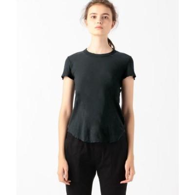 TOMORROWLAND / トゥモローランド スラブジャージー クルーネック Tシャツ WUA3037