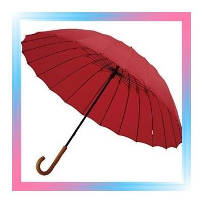 紅 × 七宝 mabu 長傘 超軽量 24本骨 傘 江戸 紅 × 七宝 大きい