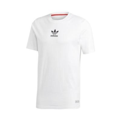 【本日限定point最大18倍!!】(取寄)アディダス Tシャツ オリジナルス 半袖Tシャツ メンズ チリ 20 白 adidas originals Men's Chile 20 T-Shirt White 送料無料