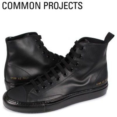 コモンプロジェクト Common Projects トーナメント ハイ スニーカー メンズ TOURNAMENT HIGH IN LEATHER ブラック 黒 5189-7547