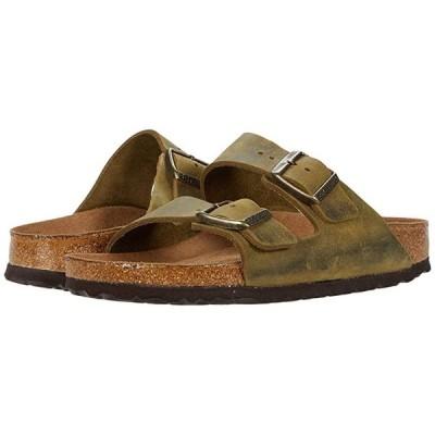 ビルケンシュトック Arizona Soft Footbed レディース サンダル Jade Oiled Leather