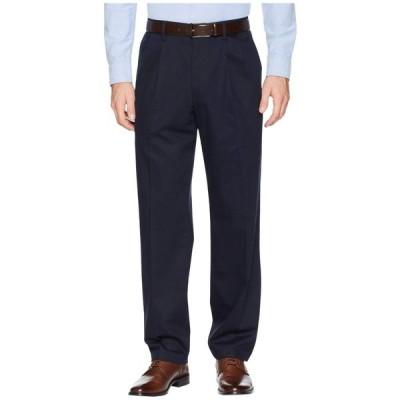 ドッカーズ Dockers メンズ ボトムス・パンツ Classic Fit Signature Khaki Lux Cotton Stretch Pants D3 - Pleated Dockers Navy