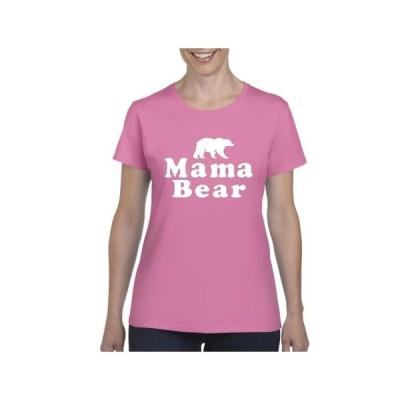 レディース 衣類 トップス Womens Mama Bear Short Sleeve T-Shirt グラフィックティー