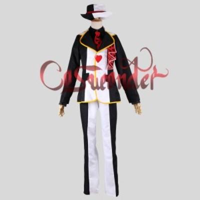 高品質 高級コスプレ衣装 ディズニー風 ジャック・ハート タイプ ドレス オーダーメイド コスチューム