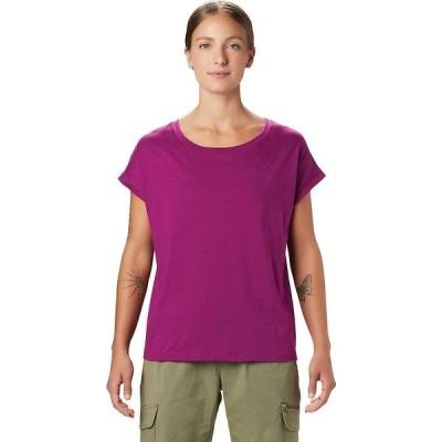 マウンテンハードウェア Mountain Hardwear レディース Tシャツ トップス MHW/Tomomi SS Tee Berry Glow