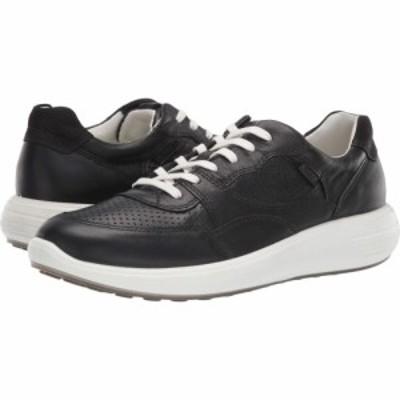 エコー ECCO レディース スニーカー シューズ・靴 Soft 7 Runner Sneaker Black