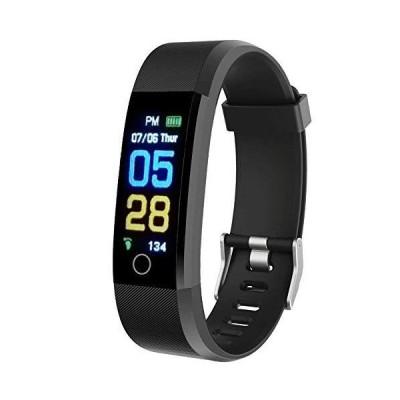 人間工学に基づいたギアスマートフィットネストラッカーリストバンド 心拍数と血圧モニター付き 歩数