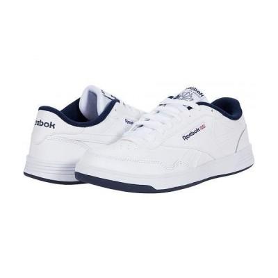 Reebok リーボック メンズ 男性用 シューズ 靴 スニーカー 運動靴 Club Memt - White/Collegiate Navy/White 1