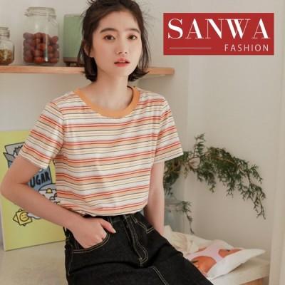 Tシャツ レディース 春 夏 半袖 ブラウス ラウンドネック 合わせやすい   着痩せ   シャツ トップス 丸首 女性 20代 30代