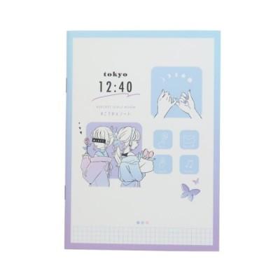 B6 こうかんノート LIKEオルチャン 交換ノート ガールズ カミオジャパン 新学期 雑貨 交換日記