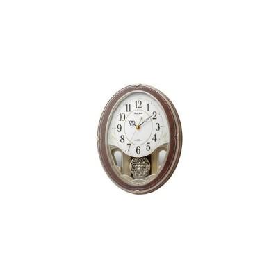 Small World/スモールワールド  4MN520RH23 電波掛時計  【スモールワールドハイム】 プラスチック枠(PS)