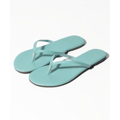 (Shoes in Closet/シュークロ)トング/ビーチ  フラットサンダル  7869/レディース ライトブルー