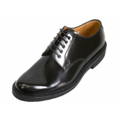 REGAL リーガル JU13 AG ブラック プレーントゥ 紳士靴 日本製