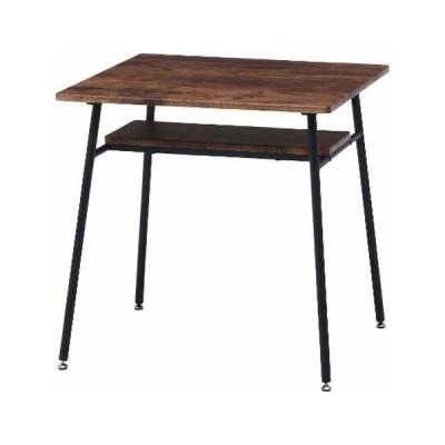 不二貿易 ダイニングテーブル ナビア(ブラウン×ブラック) NAVIA 14659 返品種別A