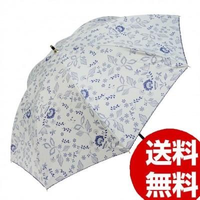 Fair mode 晴雨兼用傘 50cm ショート フラワーレジェール SS-2025 ホワイト