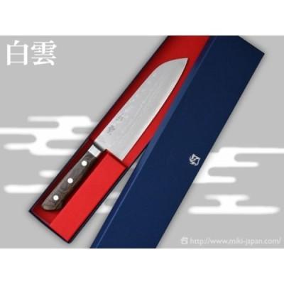 三徳包丁「白雲」 165mm TS188 /三木鍛冶屋 ステンレス和包丁 V金10号積層鋼 高級ステンレス鋼 文化包丁