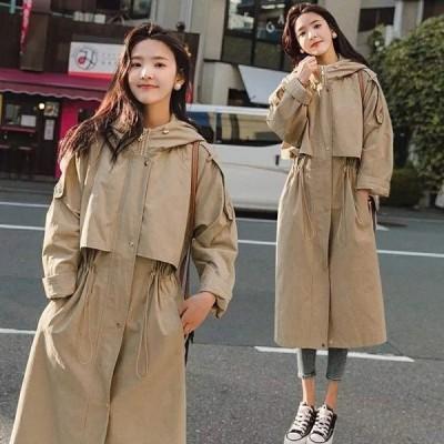 トレンチコート レディース 冬 おしゃれ コート ジャケット 韓国 大きいサイズ Pコート アウター 高校生 2748