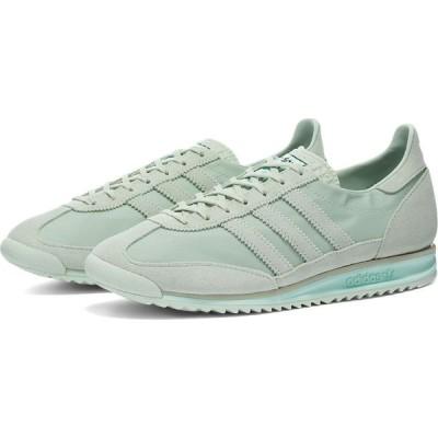 アディダス Adidas Womens レディース スニーカー シューズ・靴 adidas sl 72 w Green