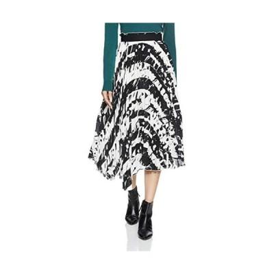 [ミラオーウェン] アシンメトリーヘムプリーツスカート 09WFS185017 レディース (MIX 0)