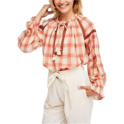 レディース 衣類 トップス Free People Womens Honey Grove Knit Blouse ブラウス&シャツ